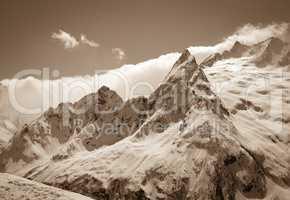 Caucasus Mountains, region Dombay