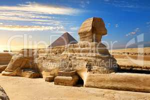Famous egyptian sphinx