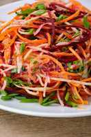 salad of shredded vegetables