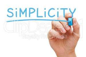 Simplicity Blue Marker