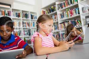 Children are using technology