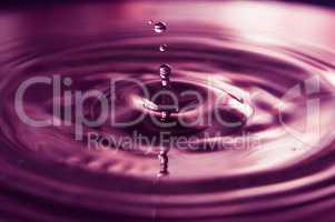 Water Drops and Ripples