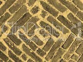 Brick vault sepia