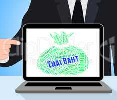 Thai Baht Represents Forex Trading And Currencies
