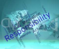 Responsibility Words Means Obligations Duties And Responsibiliti