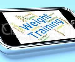 Weight Training Indicates Physical Activity And Dumbbells