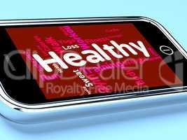 Health Words Indicates Preventive Medicine And Care