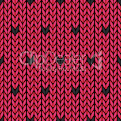Seamless watermelon fruit pattern. Vector food background seed texture knitted.