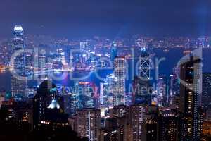 Night over Hong Kong