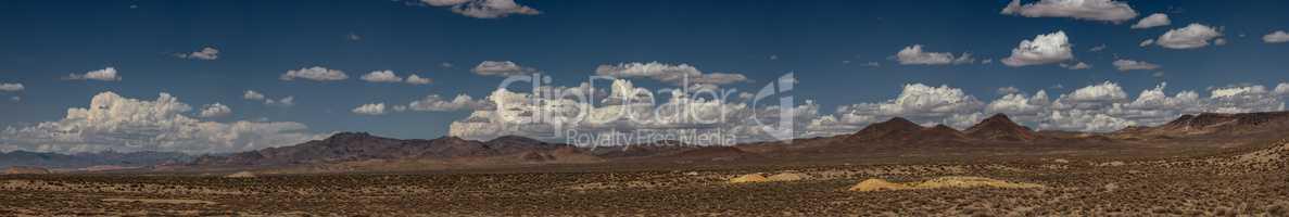 Nevada Landscape Panorama