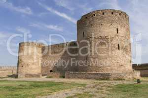 Ancient Akkerman fortress at Belgorod-Dnestrovsky, near Odessa, Ukraine. Citadel old fortress. The South of Ukraine photo