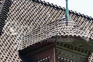 Tiled roof geometry