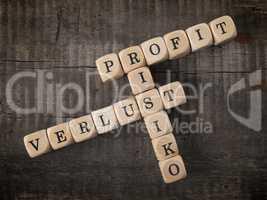 Profit, Risiko und Verlust