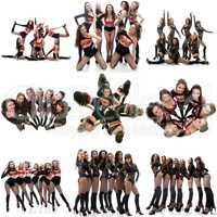 Photo collection of dance women's group