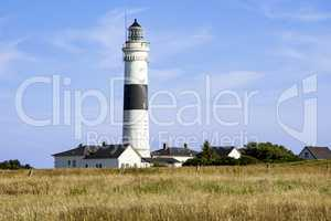 Lighthouse on the island of Sylt, Germany