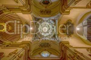 Historisches Kirchengewölbe
