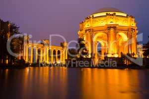 Palace Of Fine Arts, San Francisco, Dusk