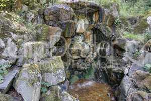 Mineral water spring - drinking fountain