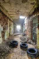 Abandoned ruins - derelict building