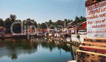 View to the sacred lake Kotiteerkha in Gorarna