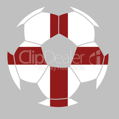 English soccer label