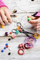 Process of creative needlework