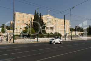 Main street in Athens photo