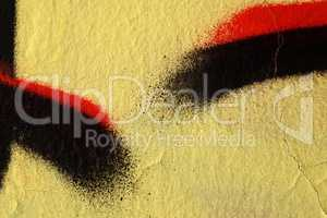 Abstract textured background - Close up - Street art