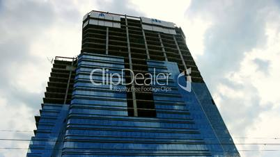 unfinished skyscraper