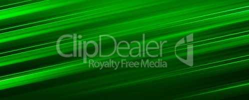 Diagonal green motion blur illustration background