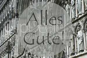 Church Of Trondheim, Alles Gute Means Best Wishes