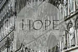 Church Of Trondheim, Text Hope