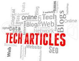 Tech Articles Means Technologies Text And Electronics