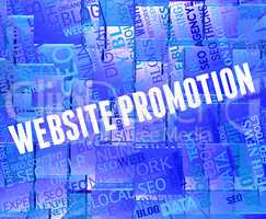 Website Promotion Shows Reduction Discounts And Internet