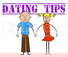 Dating Tips Represents Pointers Romance And Partner