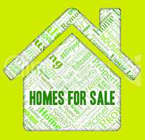 Homes For Sale Indicates Residence Selling And House