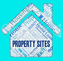 Property Sites Shows Housing Internet And Homes