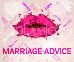 Marriage Advice Shows Assistance Tips And Advise