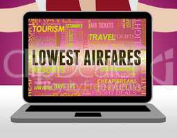 Lowest Airfares Indicates Current Price And Aircraft