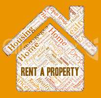 Rent Property Represents Habitation Renter And Properties