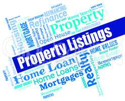 Property Listings Shows For Sale And Apartments