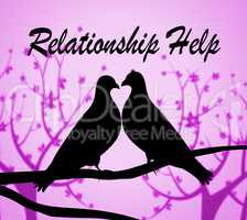 Relationship Help Shows Tenderness Helps And Devotion