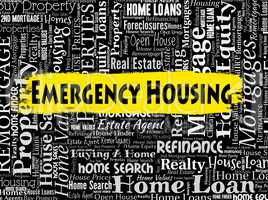 Emergency Housing Means Properties Homes And Residence