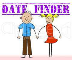 Date Finder Shows Online Dating And Dates