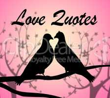 Love Quotes Indicates Devotion Motivation And Extracts