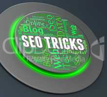 Seo Tricks Indicates Push Button And Control