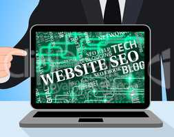 Website Seo Means Search Engines And Internet