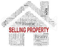 Selling Property Represents Market House And Promotions