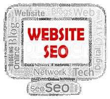 Website Seo Means Search Engine And Computers