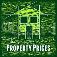 Property Prices Means Charge Housing And Estimates